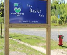 Parc Basler, vélo de montagne, Morin-Heights, Québec, Canada
