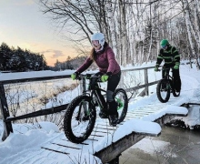 e-Fatbike guided tour Mont-Tremblant