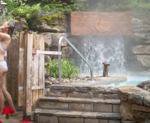 Bains Scandinaves et douche extérieure