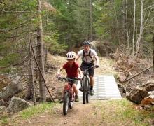 Sentiers des Orphelins, Wentworth-Nord, Laurentians, Québec, Canada