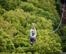 Mega Tyroliennes, aventure en nature, Laurentides