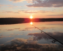 walleye fishing, pike fishing, Baskatong Reservoir, Gatineau River