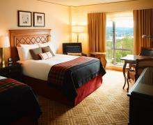 Chambre deux lits doubles