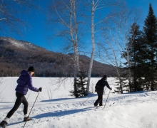 L'Interval | Cross-country skiing and snowshoeing