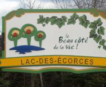 Le logo de la municipalité de Lac-des-Écorces