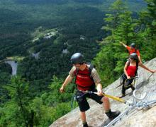 Via ferrata Parc National Mont-Tremblant