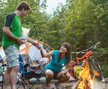 Camping et cabines Sommet Morin Heights