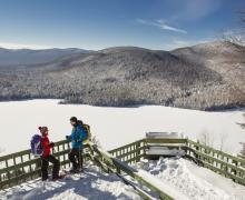 Parc national du Mont-Tremblant | Ski de fond et raquette