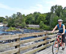 Parc régional de la Rivière-du-Nord | Vélo