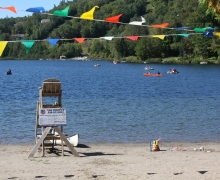 Plage Jean-Guy-Caron (lac Rond)