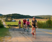 biking Laurentian