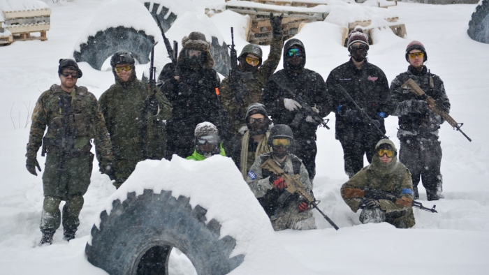Winter Airsoft