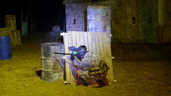 Night Paintball
