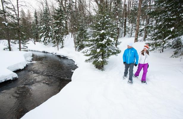 Snowshoeing - MRC des Pays-d'en-Haut