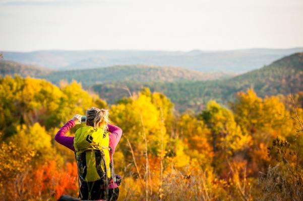 Paysage d'automne dans les Pays-d'en-Haut