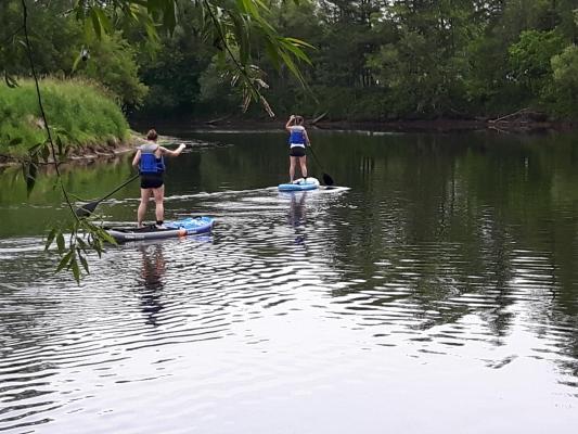 Descente en paddle sur la Rivière du Nord