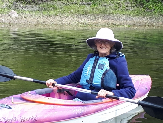Our light weight kayaks are perfect for our seniors