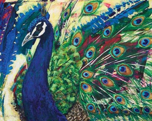 Peinture, Micheline Dionne, atelier ouvert