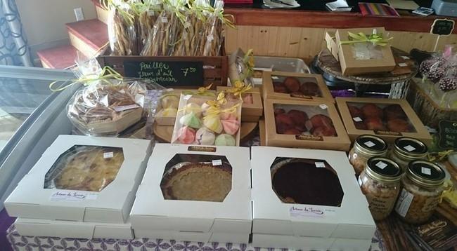 Marché Fermier de Lachute produits de pâtisserie