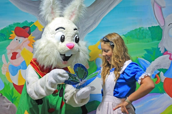 Alice in Wonderland and BunnyBunny