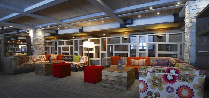 Espace Lounge pour après-ski tapas et vin