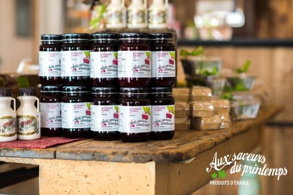 Boutique de produits d'érable , marinade, betteraves sucrées - Maple product boutique, marinade sweet beets