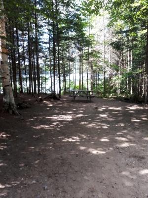 Sites de camping en nature, rustique ou avec deux services.