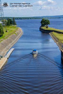 Canal Carillon écluse la plus haute au Canada