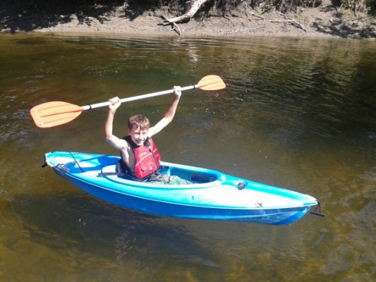 We have kayaks for children