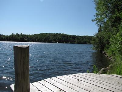 Accès privé au Lac Carré