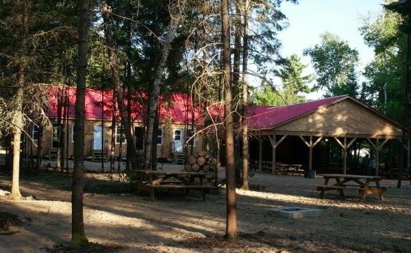 Bloc sanitaire du camping