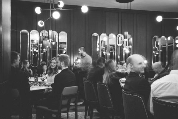 Choux Gras dinning room