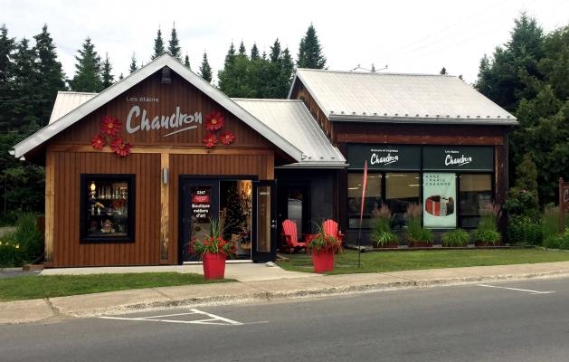 Val-David étain Chaudron artisan art culture boutique