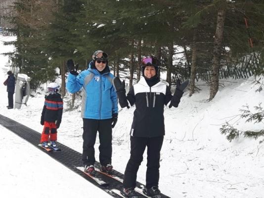 Cours de ski pour adultes et enfants
