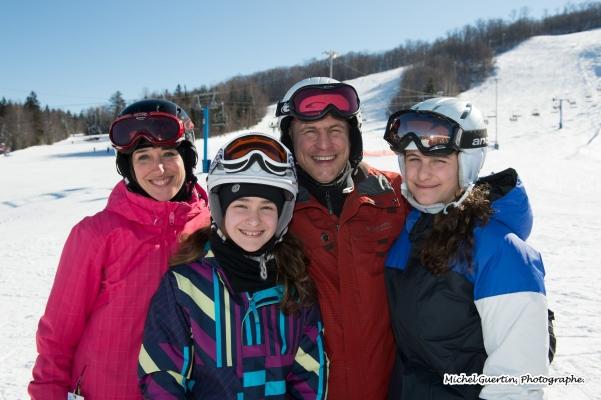 ski chantecler famille