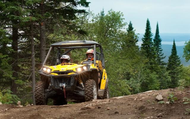 ATV on the Devil's Mountain