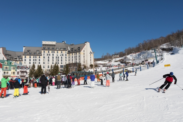 Hôtel de luxe ski-in/ski-out