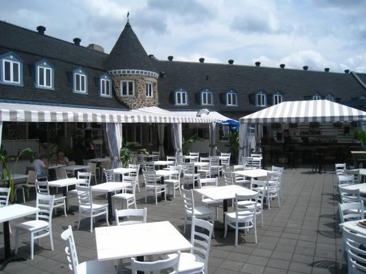 Hôtel Le Chantecler - Terrasse