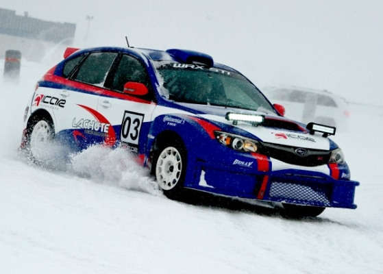 Expérience rallye sur glace