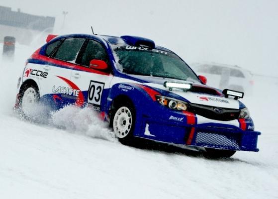 Rally on ice