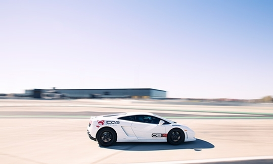 Driving Experience on a closed racetrack
