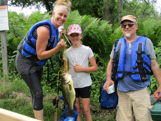 Plan a fishing day, we have fishing kayaks & canoes with rod holders