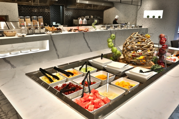 Full buffet breakfast every day from 7am to 10:30am.