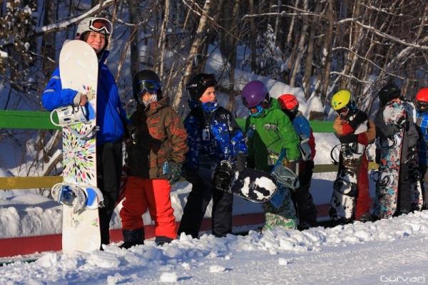 ski chantecler planche à neige école