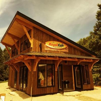 L'accueil du Kayak Café