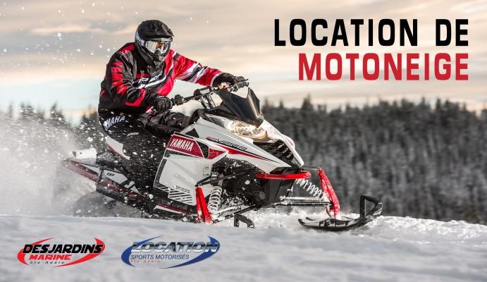 Location de motoneige laurentides haut de gamme et excursion