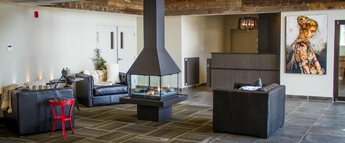 le viking resort marina tourisme laurentides. Black Bedroom Furniture Sets. Home Design Ideas