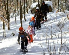 Activités familiales Laurentides, hiver
