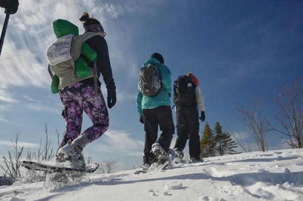 Snowshoeing Mont-Tremblant