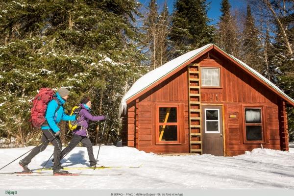 Parc national du Mont-Tremblant   Ski de randonnée et raquette